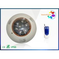 Quality 12 Watt Surface Mounted Color Changing LED Pool Lights 12V 1000lm For Fountain wholesale