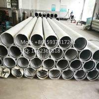 "Quality 8 5/8"" Austenitic Stainless Steel 304 continuous slot pipe based water well screens wholesale"