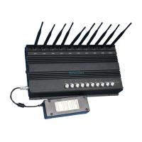 Quality 2G 3G 4G GPS Cell Phone Wifi Jammer , Mobile Phone Signal Blocker For Schools wholesale
