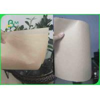China 35GSM MG Virgin Brown Kraft Paper For Bread Paper Bag Food Grade on sale