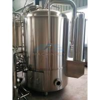 Quality 1000L Red Copper Shell Inner Stainless Steel Three Vessels Brewhouse wholesale