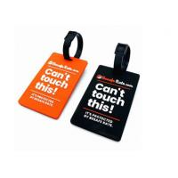 China 2D Raised Fun Luggage Identification Tags , Decorative Soft PVC Baggage Tags on sale