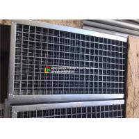 Quality Plain Welded Steel Bar Grating Closed End 6m Length For Municipal Subgrade wholesale