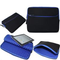 Quality Blue Shockproof Laptop Sleeve , Neoprene Macbook Pro 13 Inch Sleeve wholesale