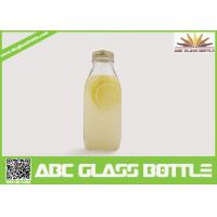 Quality Wholesale eco-friendly clear juice glass bottle bulk wholesale