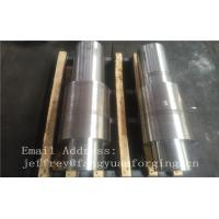 China Open Die Forged Alloy Steel Carbon Steel Shaft / Forging Products on sale