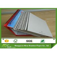 Buy cheap Box 620gsm Packaging Material Un-coated Double Sided Grey Cardboard Sheets product