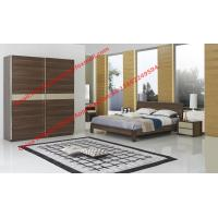 Quality Fasthotel Furniture bedroom suite by queen size bed and dresser with mirror wholesale
