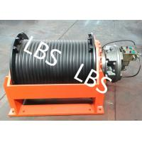 Quality 50 Ton Hydraulic Crane Winch With Lebus Grooved Drum For Multilayer Spooling wholesale