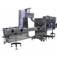 China Stainless Steel Automatic Capping Machine With PLC Touche Screen Control on sale