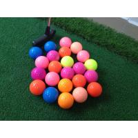 China 2015 newest 80 - 90 Hardness product Hot sale promotion colored golf ball Wholesale on sale