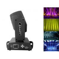 Quality Black Shell 16 Channels Sharpy Moving Head Beam Light With Color Touch Screen wholesale