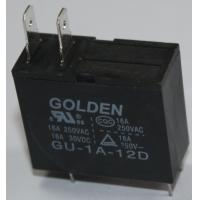 Quality Golden Black Two Pin PCB Power Relay GU SMT JQX-62F Micro Relay 12V wholesale