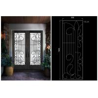 Buy cheap installed so professionally High Level Inlaid Door Glass for Building  Sound Insulation from wholesalers