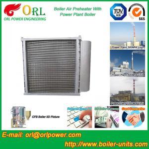 Quality Anti Wind Pressure Tubular Type Air Preheater In Boiler Galvanized Steel wholesale