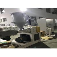 Quality Pvc Pipe Fittings Making Machine / Plastic Pipe Production Line Stable Extrusion wholesale