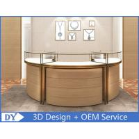 Quality Luxury 3D Design Jewellery Showcases / Glass Jewellery Display Cabinets wholesale