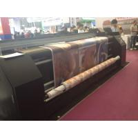 Quality Digital Printing On Fabric Sublimation Printing Machine Dual CMYK For Feather Flag wholesale