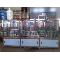 China PET / PP Plastic Bottle Automatic Water Filling Machine For Beverage / Pure Water on sale