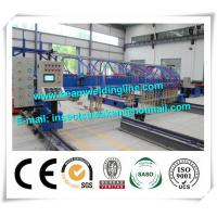 China CNC H Beam Production Line Plasma And Flame Cutting Machine with numerical control system on sale