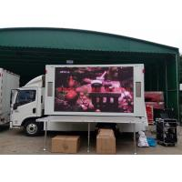 Quality HD P16 Advertising LED Mobile Billboard Static Scan Type 15 - 200m Viewing Distance wholesale