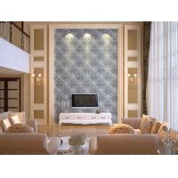 Cheap Fashion Modern Wood 3D Living Room Wallpaper for Home Wall / Wall Art 3D Wall for sale
