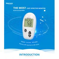 Quality Domestic Diabetes Blood Monitoring Devices No Coding With Accuracy Result wholesale