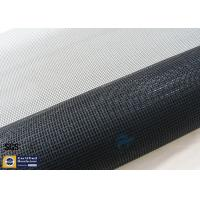 Quality 260℃ PTFE Coated Fiberglass Fabric Black 17OZ UV Conveyor Dryer Belt wholesale