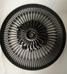 Quality Aluminum Die Casting HeatSink Black Power Coated Die Cast Process Heat Sink For Led Fixture wholesale