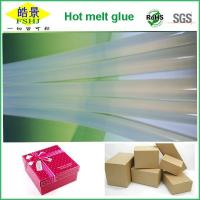 Quality High Clear EVA Hot Melt Glue Sticks Anti - yellowing Hot Melt Silicon Bar For Packaging Business wholesale