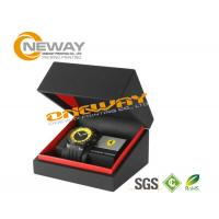 Quality Paper Customized Men'S Style Watch Packaging Box With Hot Stamping Gold Logo wholesale