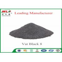 Quality Vat Black 8 Cotton Fabric Dye Environmental Vat Dyes 200 Solubility wholesale