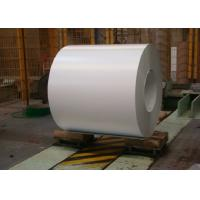 China Lightweight Color Coated Galvanized Steel Sheet / Coils 900mm - 1250mm Width on sale