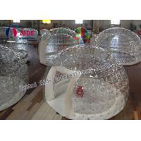 Quality Customized Inflatable Event Tent Strong 0.8mm PVC Clear Bubble Tent wholesale