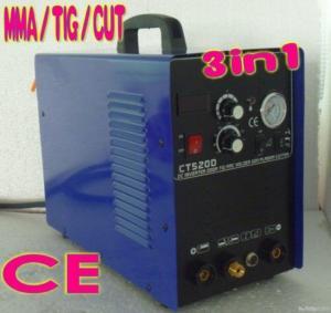 China Hot 3in1  Welding Machine 50 Amp Plasma Cutter 200 Amp Arc/tig Welder on sale