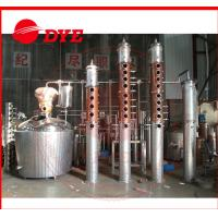 Quality Rum / Gin Red Copper Distillation Column For Fruitful Flavor / Spices wholesale