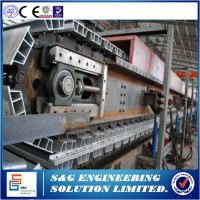 Quality Cut To Length Style Discontinuous PU Sandwich Panel Production Line For Cold Storage Project wholesale
