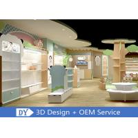 Quality Lovely Easy Install Dis-Assembly Kids Clothing Store Furniture With Led Lighting wholesale