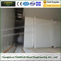 China Insulated Embossed Aluminum Polyurethane Sandwich Panel 200mm Cold Room on sale