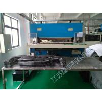 China Facial Mask Hydraulic Die Cutting Machine Double Oil Cylinder Computer Control on sale