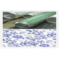 Quality 165M 155M Standard Wallpaper Rotary Printing Screen For Textile Machinery Spare wholesale