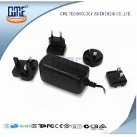 Quality Switching 12v Power Adapter , Interchangeable Plug Power Adapter AC DC wholesale