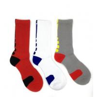 Cheap Men's Athletic Patterned Cushioned Crew Socks for sale