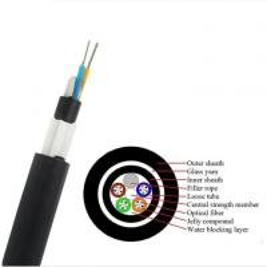 Quality GYTY53 Fiber Cable/ GYFTY73 Underground Optical Fiber Cable With Anti-biting Protection/ GYTA53 Underground Fiber Optic wholesale