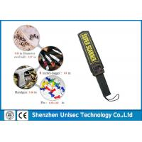 Buy cheap Security Super Scanner Metal Detector , Multiple Zones Metal Detector Wands For Security from wholesalers