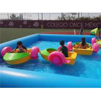 Quality Strength Water Bumper Boats , Kids Hand Paddle Boat Ce Certificated wholesale
