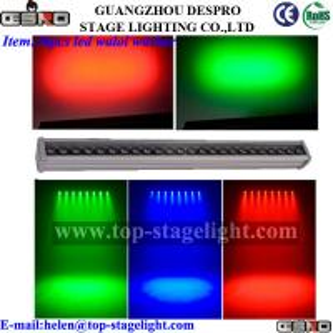 China Waterproof 36 X3W RGB LED  led wall washer light on sale