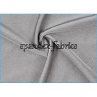Quality Light Grey 4 Way Stretch Shiny Polyamide Elastic Fabric for Swimwear wholesale