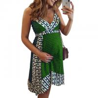 China national style wrap dress wholesale high quality cheap sexy african print maternity dresses on sale