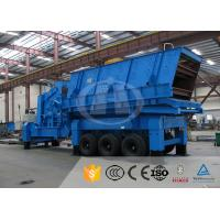 China Chemical Industry Mobile Quarry Plant Electric Motor Mobile Stone Crusher Machine on sale